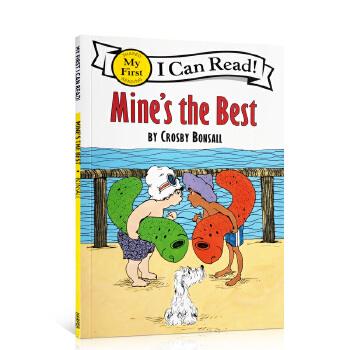 顺丰包邮 (99元5件)I Can Read My Fist阶段 Mine's the Best我的是好的 汪培珽推荐阶段英文原版绘本 送音频 家长们推荐的经典有趣故事书
