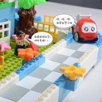 积木塑料玩具儿童大颗粒宝宝男孩男童1-2-3周岁5-6-7岁女孩子