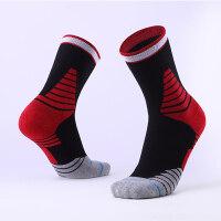 篮球袜中筒 运动袜男女跑步透气精英袜高筒袜防滑四季穿