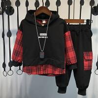 男童秋装套装儿童洋气帅气衣服两件套潮