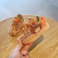 儿童婴儿学步鞋软底1-3岁运动男童女宝宝鞋子