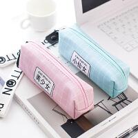 笔袋韩国创意铅笔袋女可爱小清新简约文具盒初中大学生小学生公主