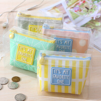 韩国迷你简单爱零钱包简约创意可爱女学生硬币收纳小包钥匙包