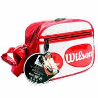 威尔胜Wilson网球包 WRZ844289 迷你背包 挂包单肩背PU挎包
