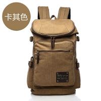 16740包男帆布双肩包旅行超大容量行李包可扩容旅游多功能户外登山包