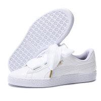 彪马PUMA女鞋休闲鞋2018夏新款运动鞋明星同款蝴蝶结Basket Heart 36252001