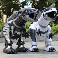 乐能电动遥控恐龙智能机器人霸王龙机械战龙唱歌益智男孩玩具儿童