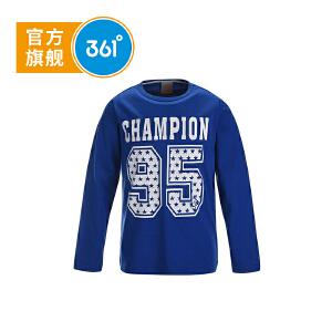 361° 361度童装 男童T恤男童长袖针织衫男童上衣儿童T恤 K57121021
