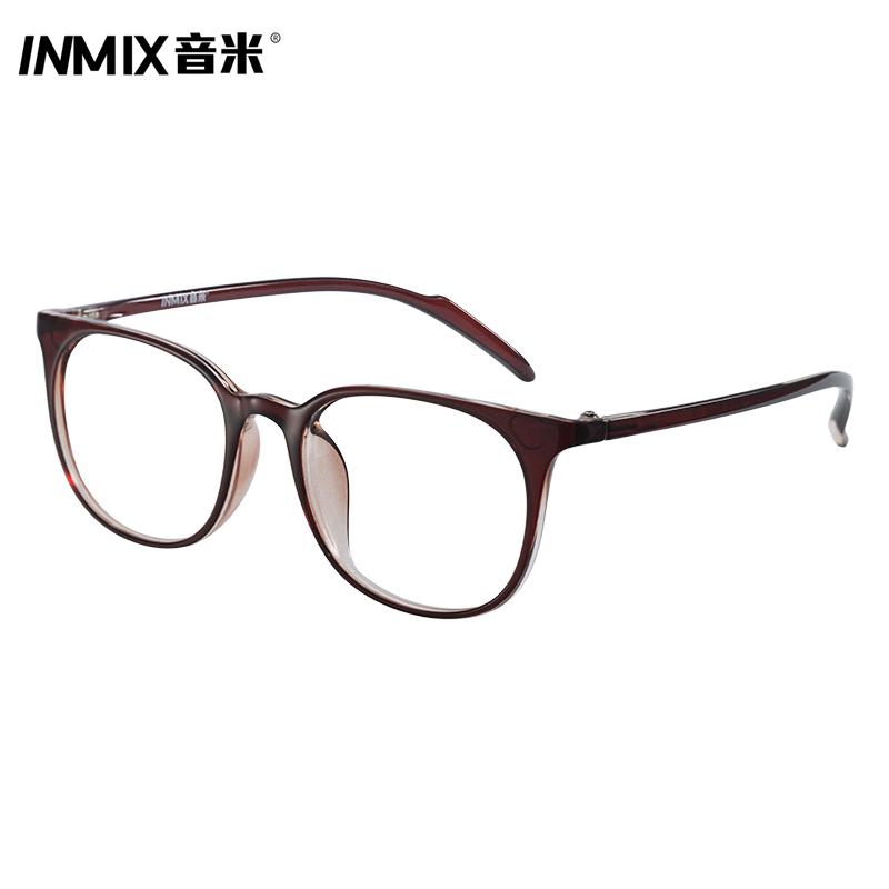 音米新款韩版复古眼镜框 男 成品近视眼镜架女 可配近视镜 2476