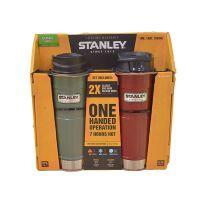 【网易考拉】【Apple Pay 支付6折】Stanley 史丹利 美国保温杯大师 真空保温杯礼盒装( 2个装)