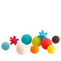 婴儿玩具手抓球触摸儿童早教触觉感知球按摩球类3-6-12个月宝宝