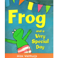 Frog and the very special day《特别的日子》ISBN9781783441495英语英文原版