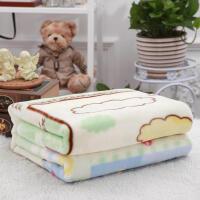幼儿园午休毯婴儿小毛毯宝宝办公室空调毯双层加厚毯子儿童被子秋冬季 110*135cm