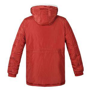 【限时抢购到手价:189元】AMAPO潮牌大码男装 胖子加肥加大码冬季加厚保暖连帽棉衣服外套男