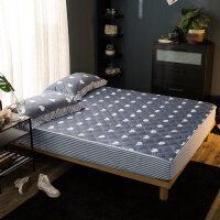 纯棉床笠单件全棉加厚夹棉席梦思保护套床套床垫套薄棕垫1.8m床罩
