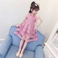夏�b�B衣裙夏季公主裙�和�8�q小女孩裙子