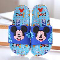 迪士尼儿童凉拖鞋女童夏季居家室内浴室洗澡拖鞋男孩沙滩拖鞋防滑