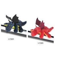 冰火龙磁铁 毛绒玩具公仔冰箱贴 黑板磁性公仔贴