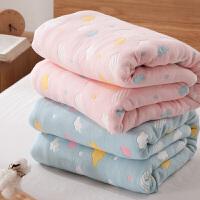 加厚全棉毛巾被纯棉单人双人婴儿纱布儿童空调毯子午睡毯夏季盖毯