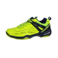 羽毛球鞋男鞋女款超轻透气防滑男士运动儿童训练鞋子 绿色