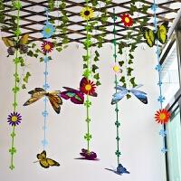 吊饰装饰挂饰仿真蝴蝶教室空中环境布置创设材料创意品