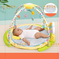 婴儿音乐钢琴毯0-3-6个月宝宝游戏毯新生儿健身架爬行健身毯