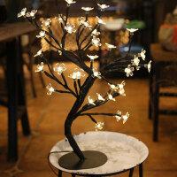 圣诞节日LED小灯串ins装饰灯造型灯小彩灯小夜灯小台灯树灯串家居卧室节庆灯饰