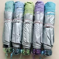 天堂336T银丝印雨伞防紫外线太阳伞银胶遮阳防晒伞