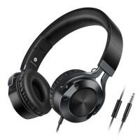 【包邮】I9头戴式耳机 音乐重低音折叠通话线控麦克风有线耳机 3.5MM接口 通用苹果 三星 华为 魅族 OPPO 小