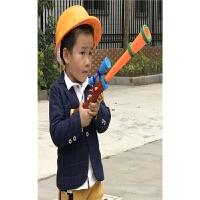 儿童音乐声光抢熊出没光头强的玩具套装电动玩具枪男孩3-6-8岁