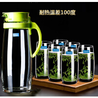 【支持礼品卡】耐热大容量玻璃凉水冷水壶防爆耐高温茶壶家用套装x8k