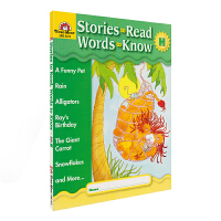 Evan Moor Stories To Read Words to Know Level H 加州教辅 阅读学词汇系
