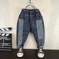 童装男童牛仔裤儿童春秋长裤子洋气潮裤