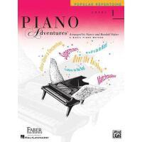 英文原版 菲伯尔钢琴基础教程(1级):流行曲集 Piano Adventures: Level 1: Popular