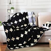双层毛毯加厚春秋单人双人珊瑚绒毯子学生床单办公室保暖午睡盖毯