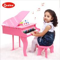 Onshine益智早教儿童仿真钢琴 30键高档小钢琴木质乐器 带琴谱