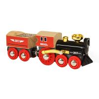 瑞典BRIO火车Brio World系列配件 儿童男女孩益智玩具 运煤电动火车/经典蒸汽火车2017特别版
