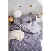 床单被罩三件套床上用品棉棉学生宿舍被褥套装六件套单人1.2