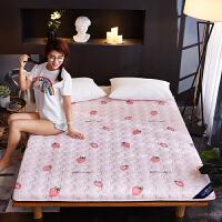 棉榻榻米床垫1.2米单人学生宿舍床褥1.8m双人0.9米棉床垫加厚T 甜心草莓 加厚款