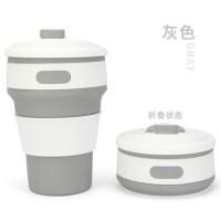 迷你折叠水杯便携咖啡杯伸缩随手杯户外随行硅胶水杯压缩杯多功能旅行洗漱杯折叠杯
