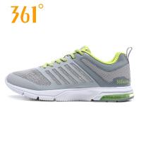 361男鞋运动鞋跑步鞋2018新款网面透气361度休闲鞋 571622205