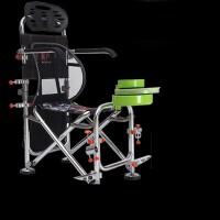 钓椅钓鱼椅多功能折叠钓鱼座椅可升降铝合金钓登钓椅大号