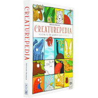 【英文原版】Creaturepedia 动物的朋友圈