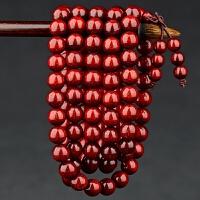 印度小叶紫檀手串2.0满金星男老料高密小叶紫檀木佛珠手链108颗女