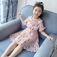 女童连衣裙夏装儿童夏季雪纺童装裙子女孩公主裙