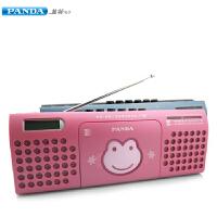 熊猫(PANDA) F-237语言复读机收录机台式磁带录音机收音机播放器播放机英语学习机 红色