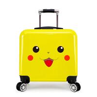 【特惠】2019优选可爱卡通儿童拉杆箱20寸万向轮宝宝行李箱男女小学生可坐骑旅行箱