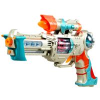 3-7岁男孩宝宝儿童电动玩具枪声光套装带音乐