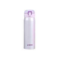 杯具熊(BEDDYBEAR) 男女士不锈钢真空保温杯 情侣旅行车载水杯450ml 魅力紫