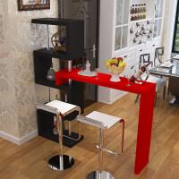 家用吧台客厅创意酒柜简易隔断柜玄关简约酒吧台厨房旋转小吧台桌 组装
